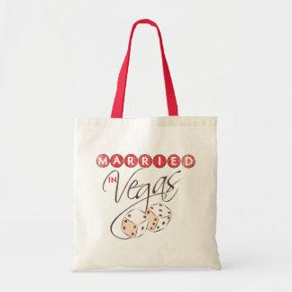 Married in Vegas Budget Tote Bag