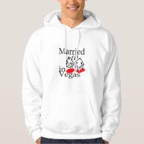 Married In Vegas (Dice) Hoodie