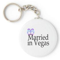Married In Vegas Keychain