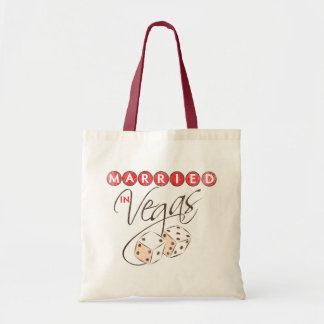 Married in Vegas Tote Bag