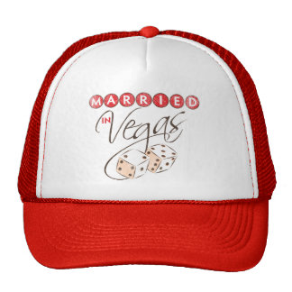 Married in Vegas Trucker Hat