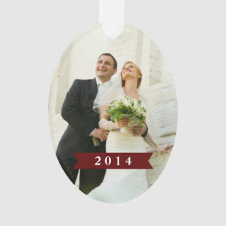 Married & Merry Holiday Ornament 5