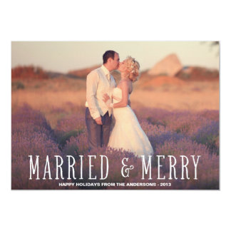 """MARRIED & MERRY 