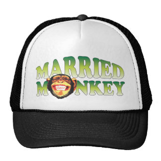 Married Monkey Trucker Hat