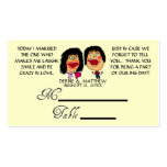 Married My Best Friend Wedding Placecards Business Cards