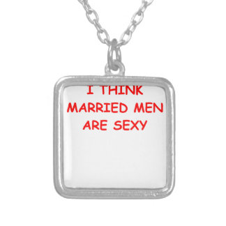 married custom necklace