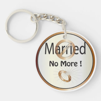 Married No More | Divorced Keychain