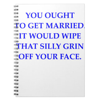 MARRIED NOTEBOOK