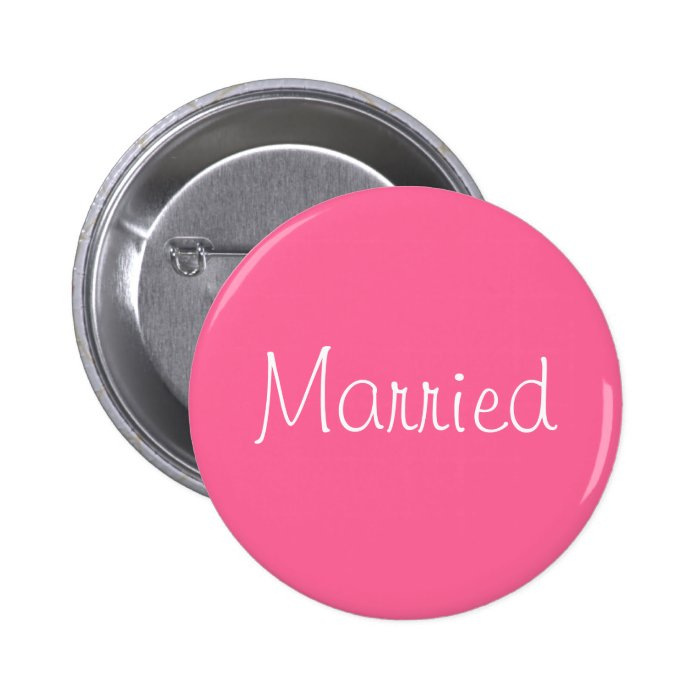 """Married"" Pin"