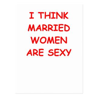 married postcard