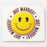 Married Smiley Mouse Mat