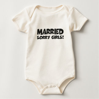 Married - sorry girls baby creeper