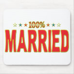 Married Star Tag Mouse Mat