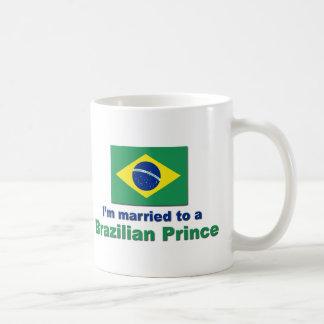 Married to a Brazilian Prince Coffee Mugs