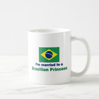 Married to a Brazilian Princess Coffee Mug