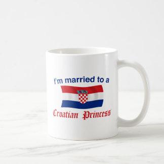 Married to a Croatian Princess Coffee Mug