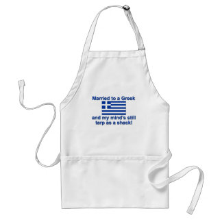 Married to a Greek Adult Apron