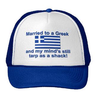 Married to a Greek Trucker Hat