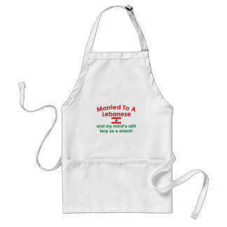 Married to a Lebanese Adult Apron