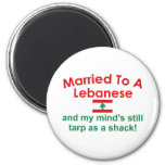Married to a Lebanese Magnets