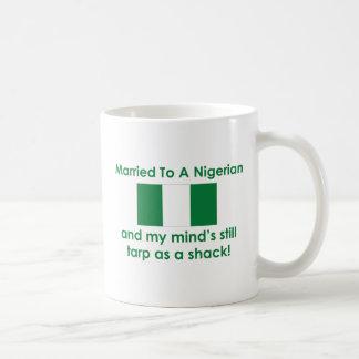 Married to a Nigerian Classic White Coffee Mug