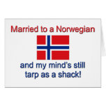 Married To A Norwegian... Cards