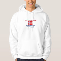Married To A Norwegian... Hoodie