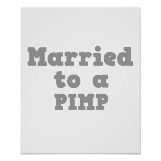 MARRIED TO A PIMP POSTER