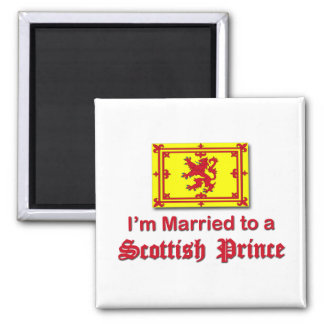 Married to a Scottish Prince Fridge Magnet