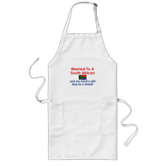 Married to a South African Long Apron