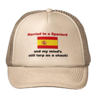 Married to a Spaniard Trucker Hat