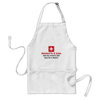 Married to a Swiss Adult Apron