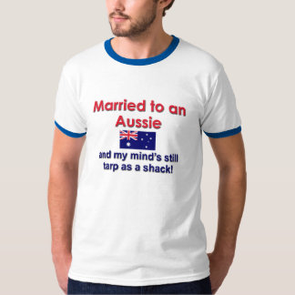 Married to an Aussie T-Shirt