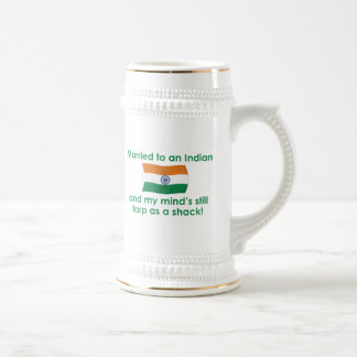 Married to An Indian Beer Stein