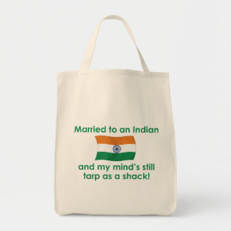 Married to An Indian Tote Bag