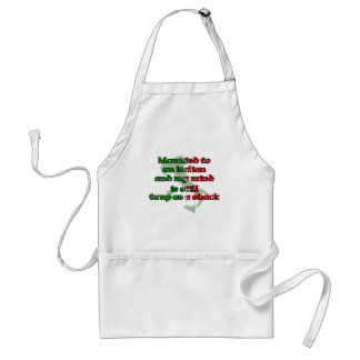 Married to an Italian Adult Apron