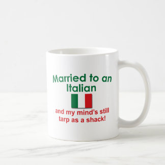 Married to an Italian Classic White Coffee Mug