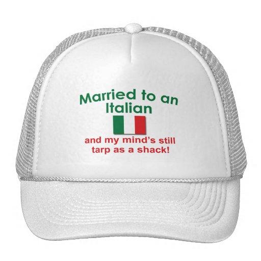 Married to an Italian Trucker Hat