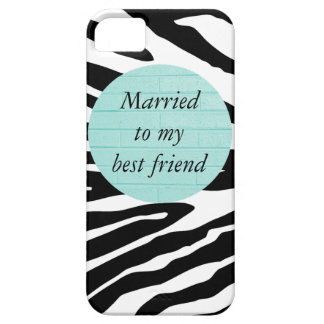 Married to My Best Friend iPhone 5/5S Case
