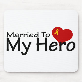 Married To My Hero Mouse Pad
