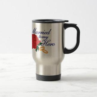 Married To My Hero Travel Mug