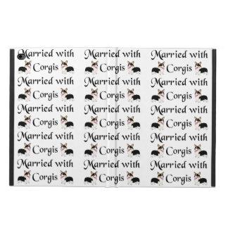 Married with Corgis iPad Air 2 Case Powis iPad Air 2 Case