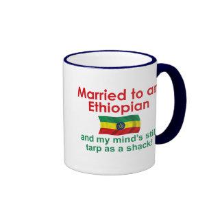 Marriet to an Ethiopian Coffee Mugs