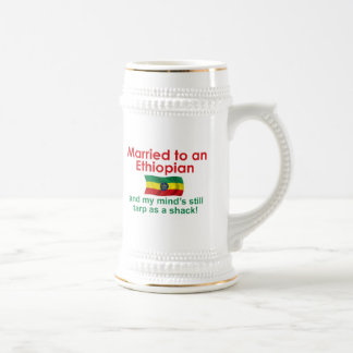 Marriet to an Ethiopian Coffee Mug