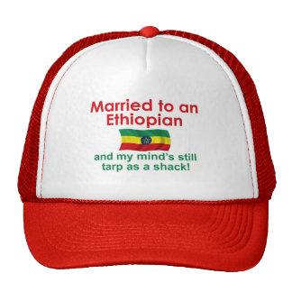 Marriet to an Ethiopian Trucker Hat