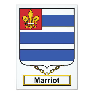Marriot Family Crest Card