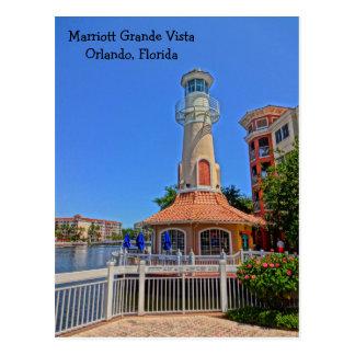 Marriott Grande Vista Resort Orlando, Florida Postcard