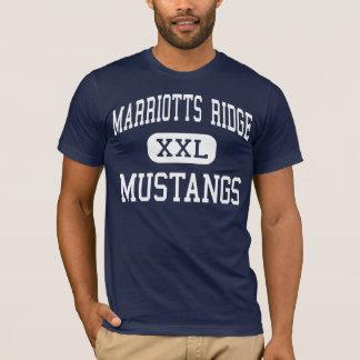Marriotts Ridge - Mustangs - High - Marriottsville T-Shirt