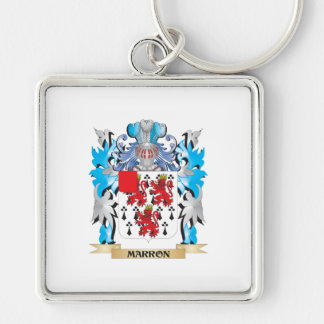 Marron Coat of Arms - Family Crest Keychain