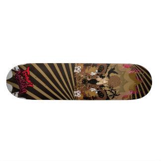 marrón de la ciudad de la libertad tablas de patinar